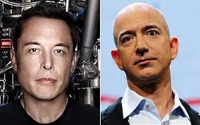 Musk contro Bezos: scontro fra titani