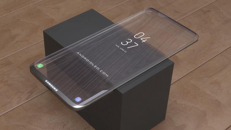 Il nuovo samsung trasparente: magari in futuro